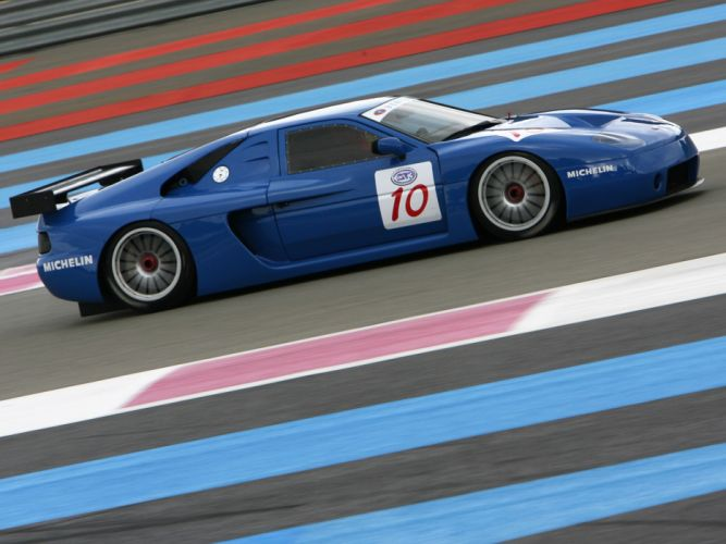 2006 Venturi Heritage GT3 race racing supercar supercars wallpaper