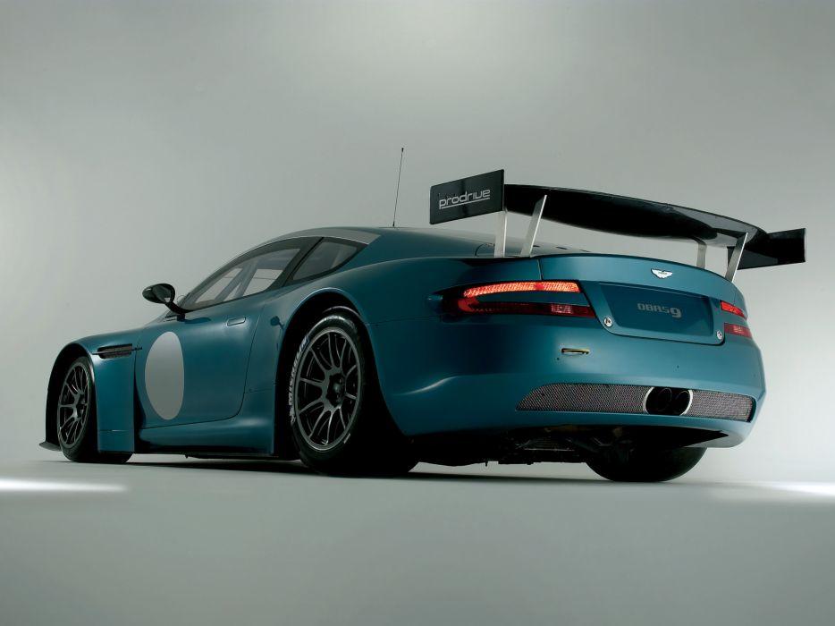 2004 Aston Martin DBRS9 GT race racing g-t supercar supercars     d wallpaper
