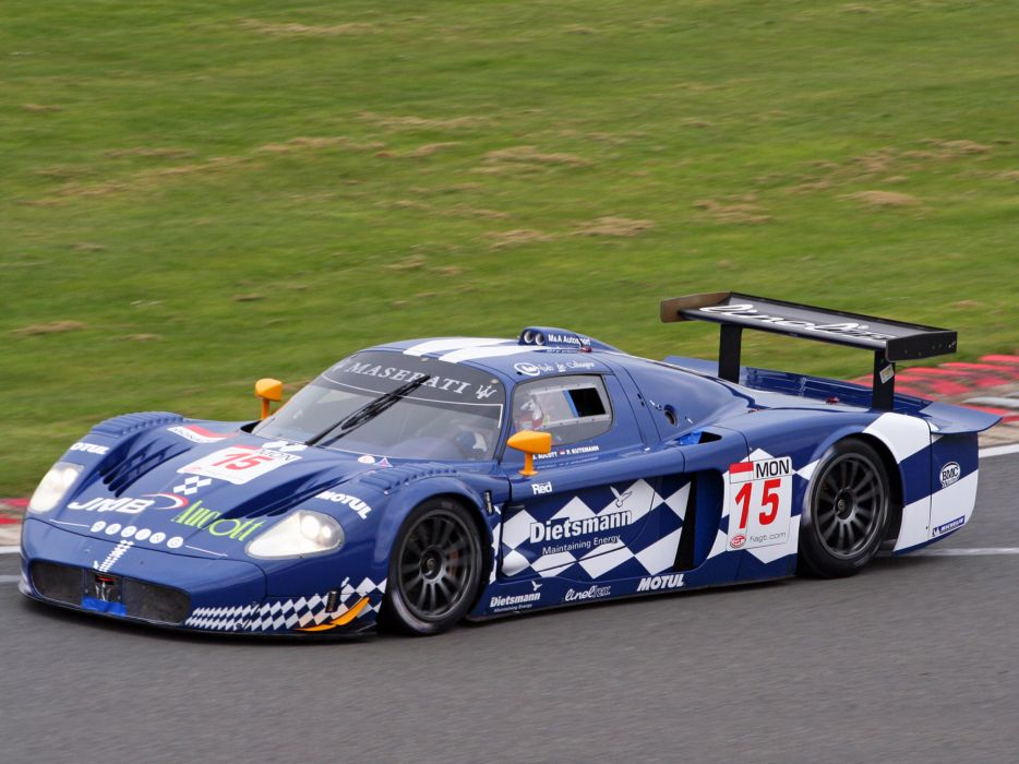 2004 Maserati MC12 GT1 race racing      f wallpaper