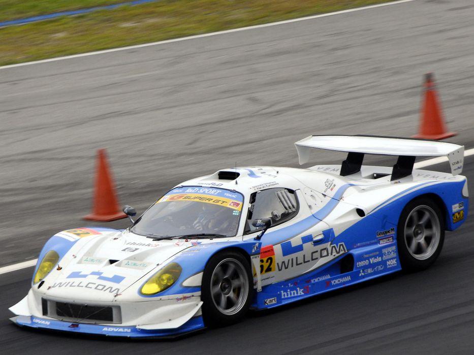 2004 Vemac RD408R Super-GT race racing g-t super    f wallpaper