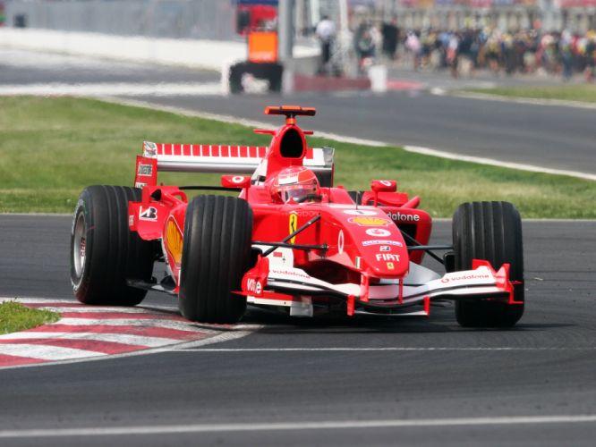 2005 Ferrari F2005 formula one f-1 race racing f wallpaper