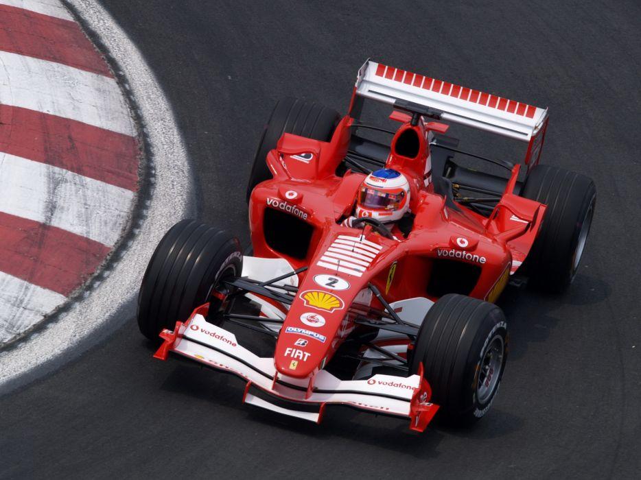 2005 Ferrari F2005 formula one f-1 race racing wallpaper