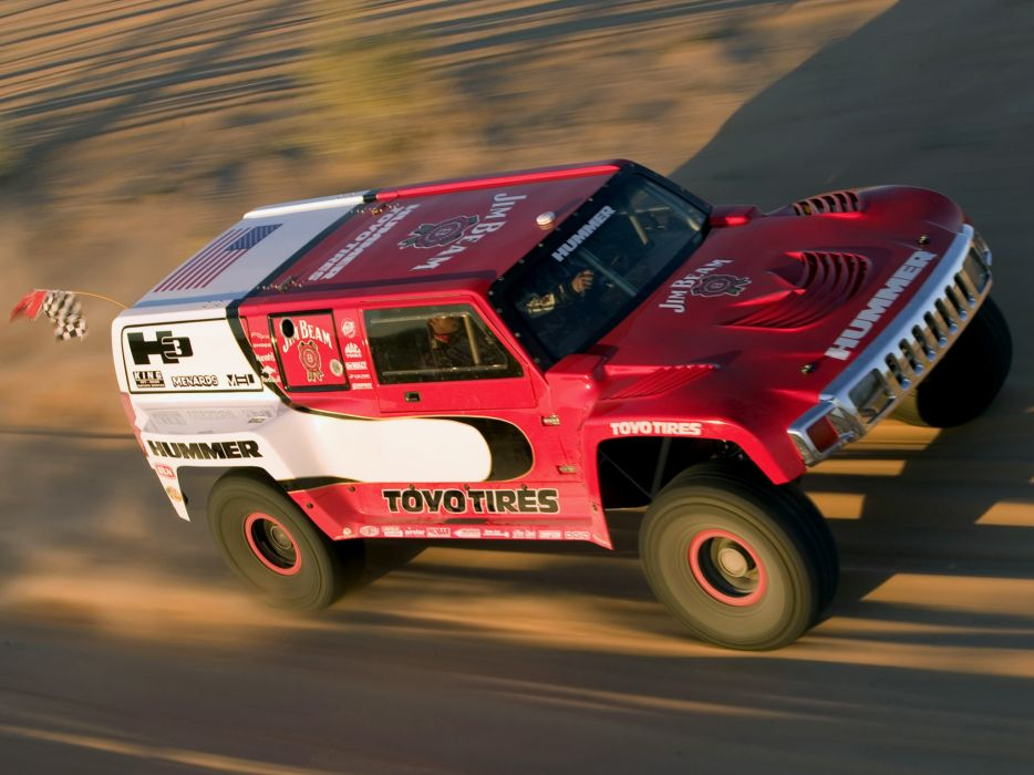 2005 Hummer H3 Race Truck Prototype offroad 4x4 h-3 baja dakar wallpaper