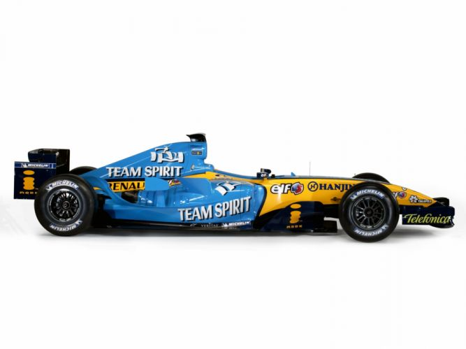 2005 Renault R25 formula one f-1 race racing wallpaper