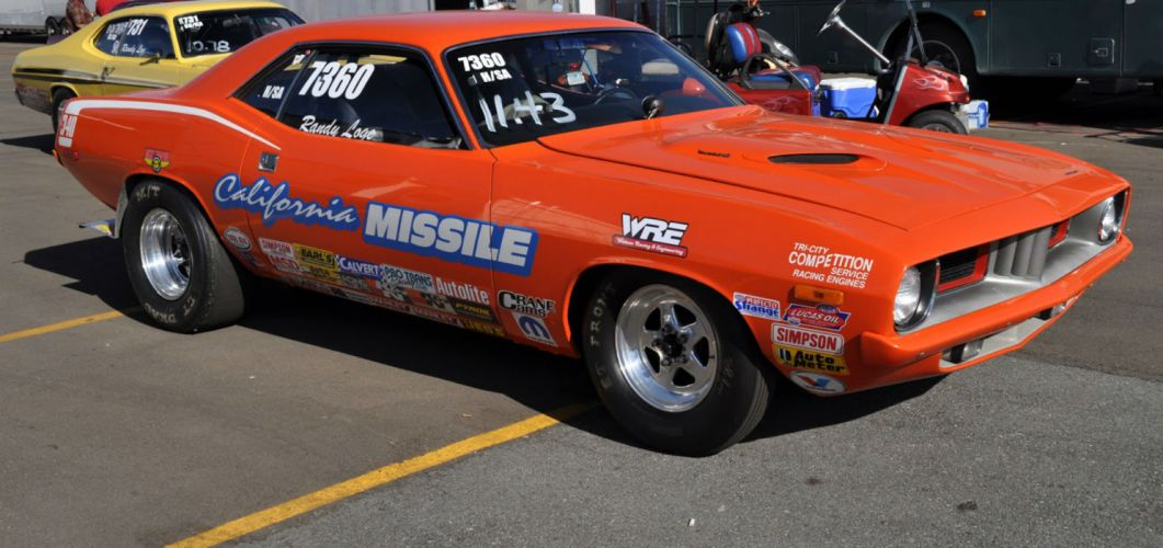 plymouth cuda drag racing race hot rod rods muscle classic hd wallpaper
