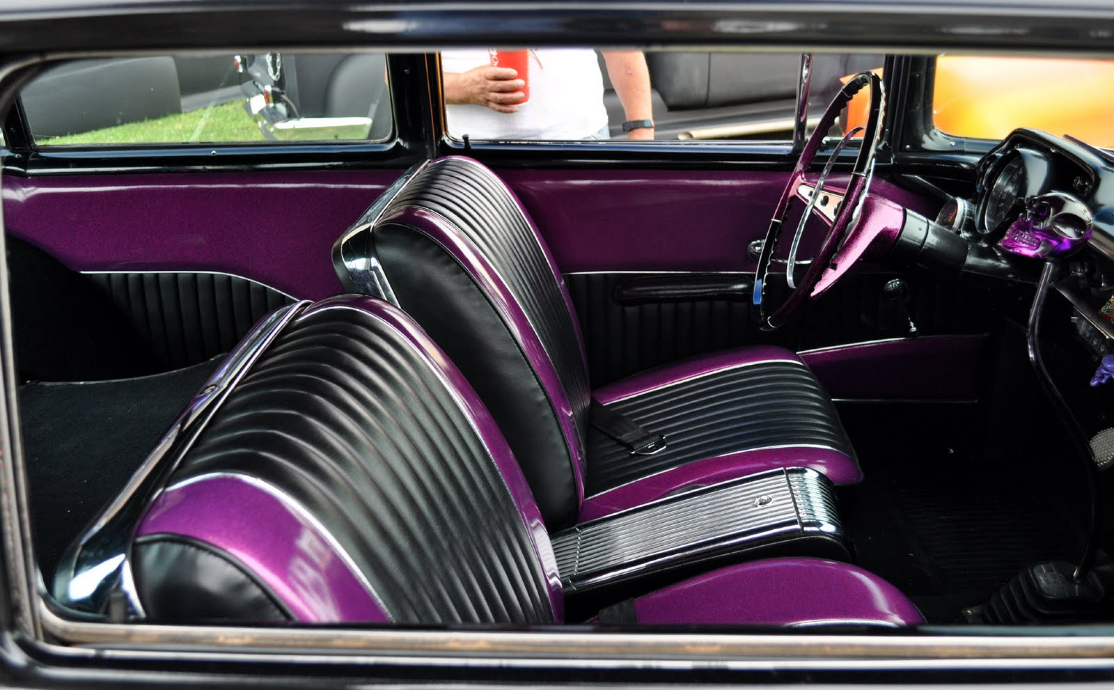Lowrider interior | Customizing a car's interior can be as i… | Flickr