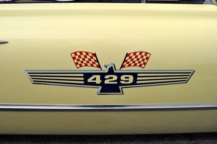1961 Ford galaxy Starliner drag racing race hot rod rods r_JPG wallpaper