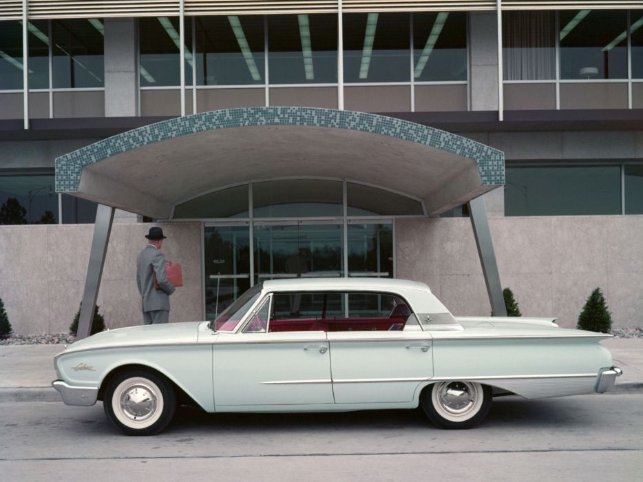 1960 Ford Galaxie Town Victoria V54 classic luxury   f wallpaper