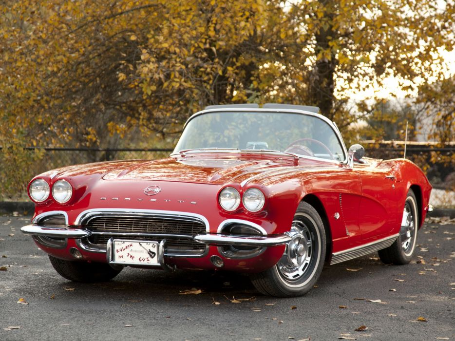 1962 Chevrolet Corvette C-1 supercar supercars muscle classic covertible   gu wallpaper
