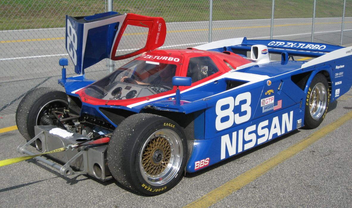 1985 Nissan GTP ZX-Turbo GTP race racing    g wallpaper