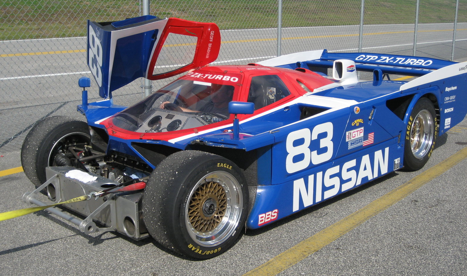 1985 Nissan Gtp Zx Turbo Gtp Race Racing G Wallpaper