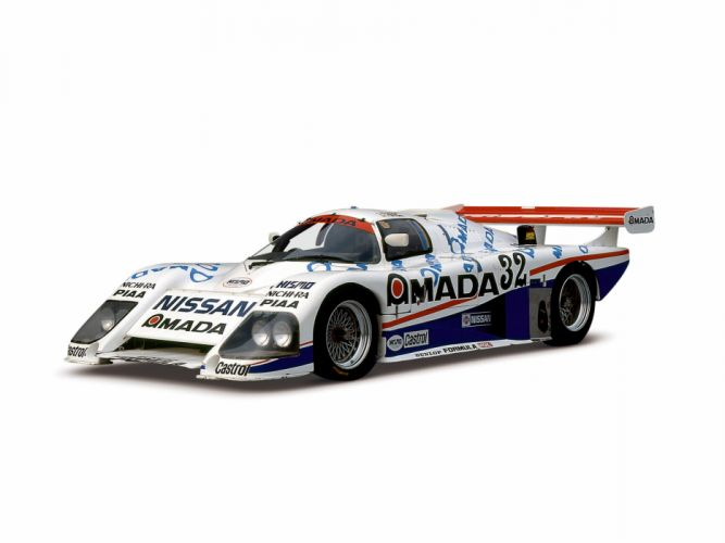 1985 Nissan R85V GTP race racing wallpaper