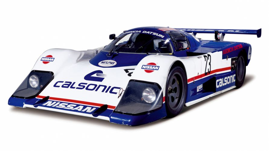 1986 Nissan R86V GTP race racing wallpaper