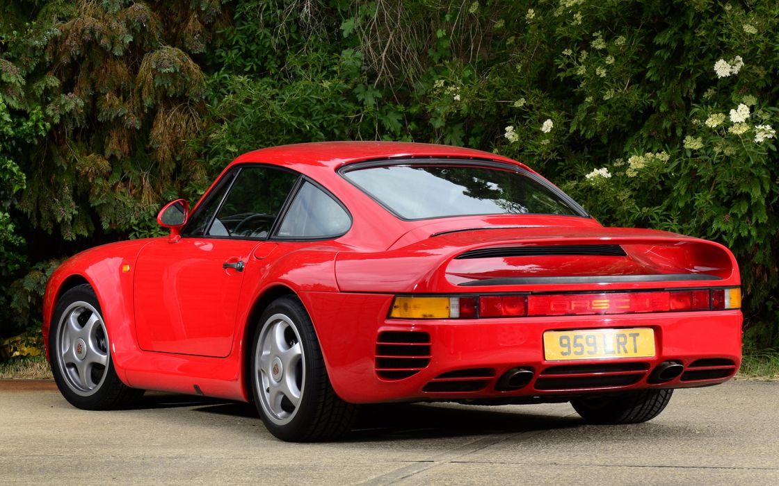 1986 Porsche 959 supercar supercars  g wallpaper