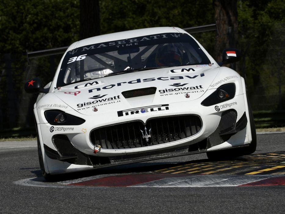 2012 Maserati GranTurismo M-C Trofeo race racing    ge wallpaper