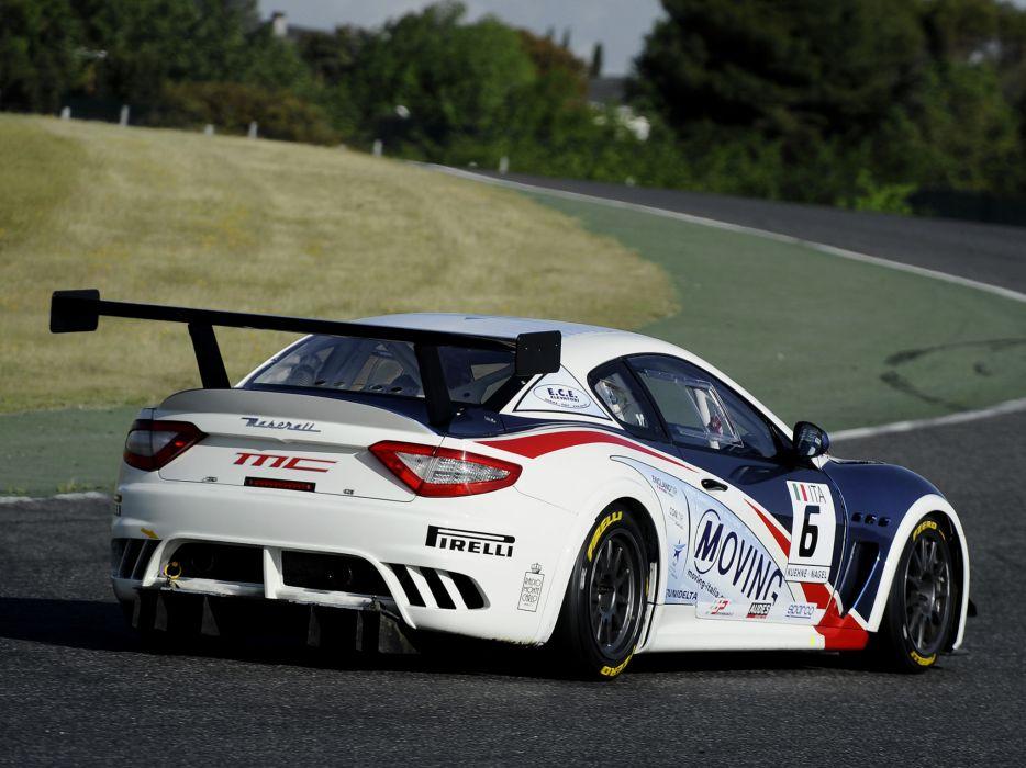 2012 Maserati GranTurismo M-C Trofeo race racing  g wallpaper