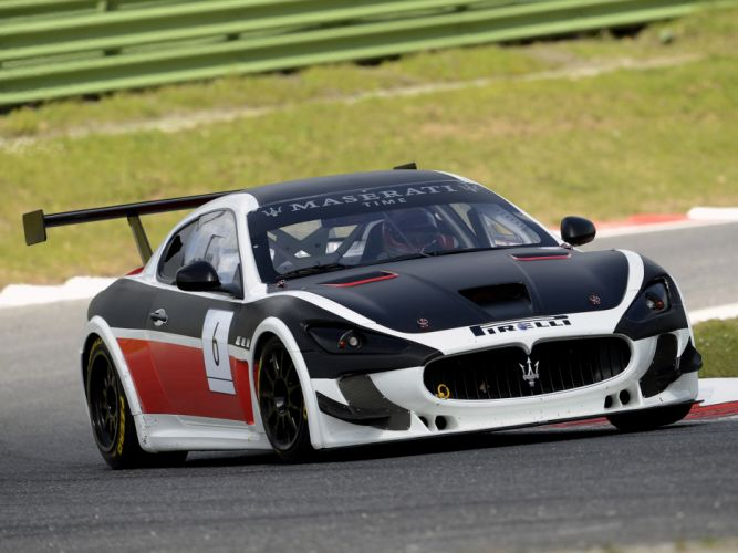 2012 Maserati GranTurismo M-C Trofeo race racing r wallpaper