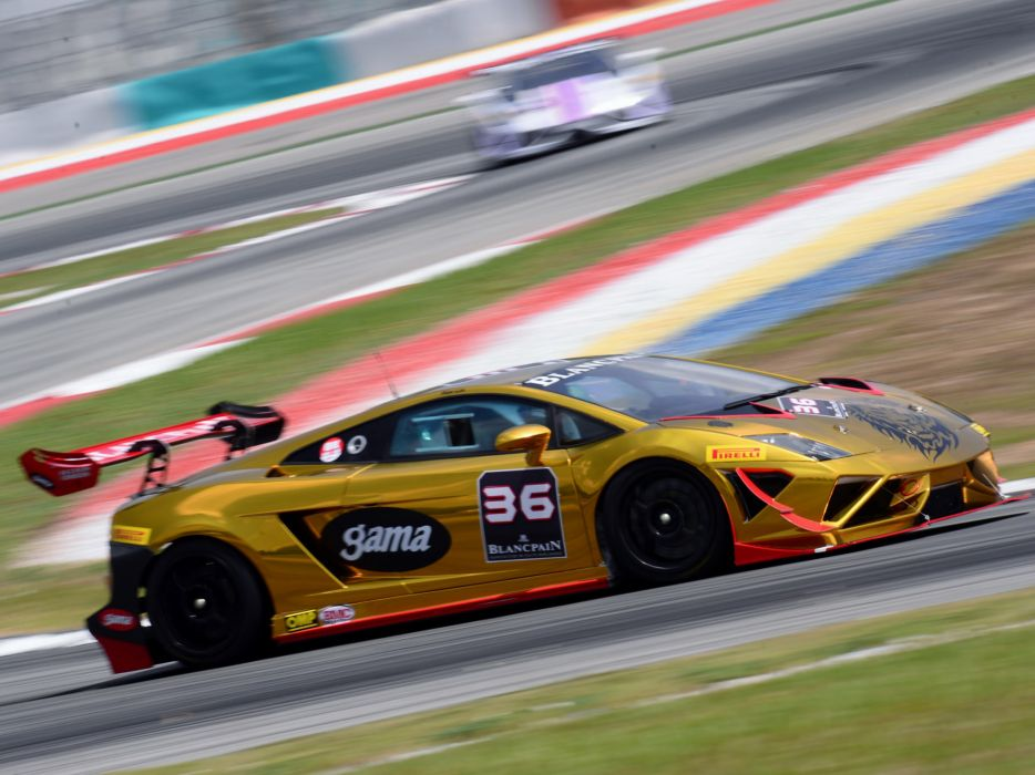 2013 Lamborghini Gallardo LP570-4 Super Trofeo supercar supercars race racing     f wallpaper