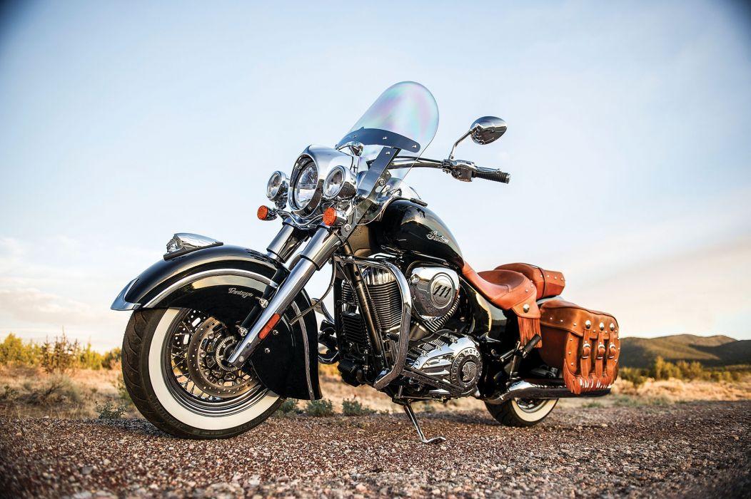 2014 Indian Chief Vintage motorbike   f wallpaper