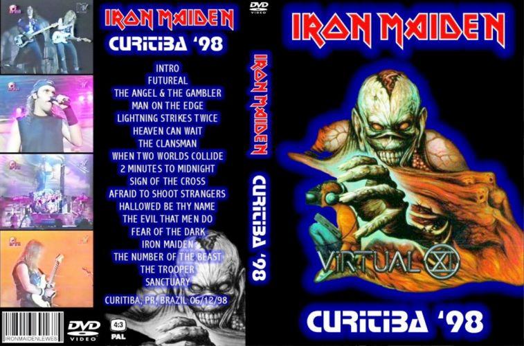 Iron Maiden heavy metal cover g wallpaper