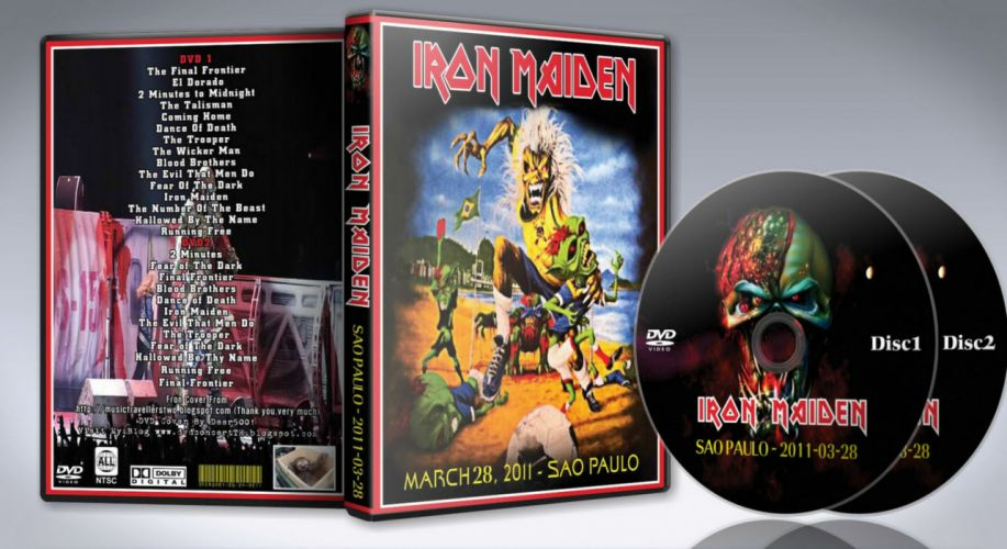 Iron Maiden heavy metal cover f wallpaper