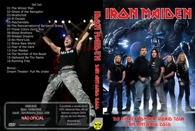 Iron Maiden heavy metal cover gs wallpaper