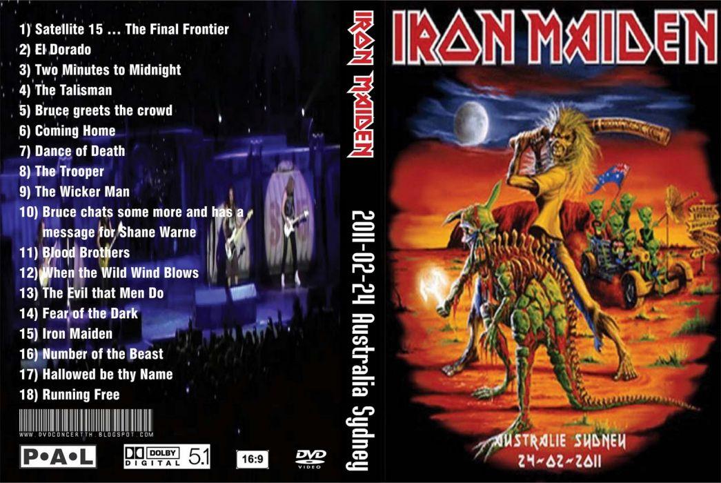 Iron Maiden heavy metal cover   gk wallpaper