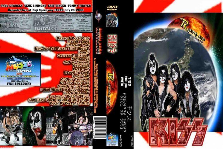 KISS heavy metal cover fs wallpaper