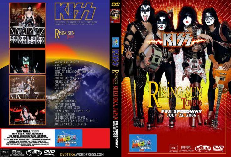 KISS heavy metal cover f wallpaper