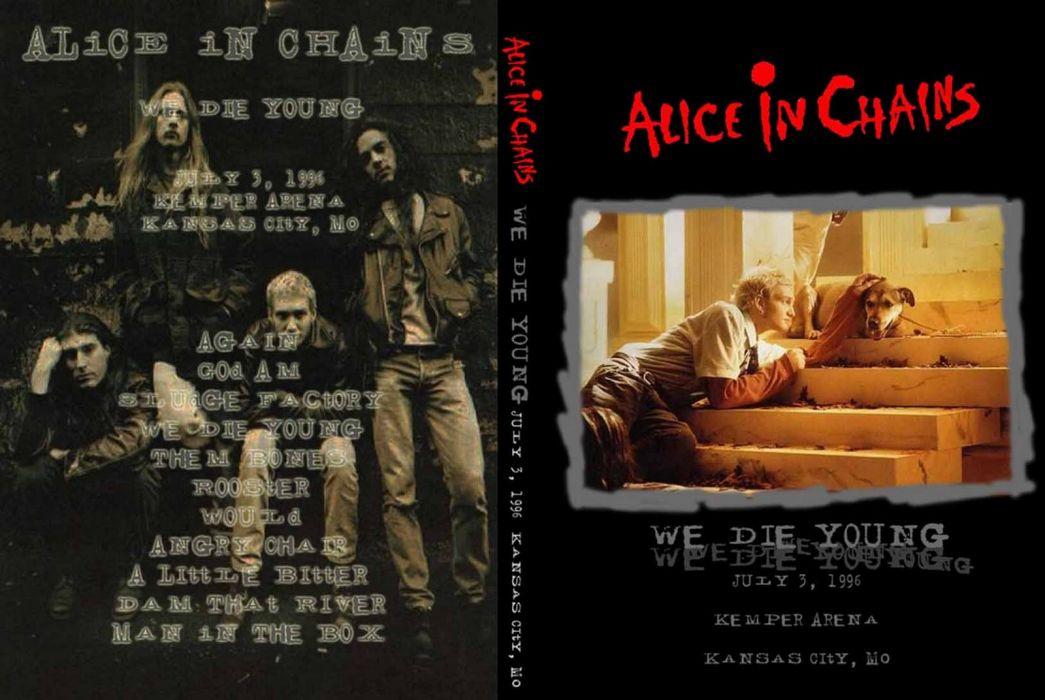 Alice In Chains grunge rock alternative   g wallpaper