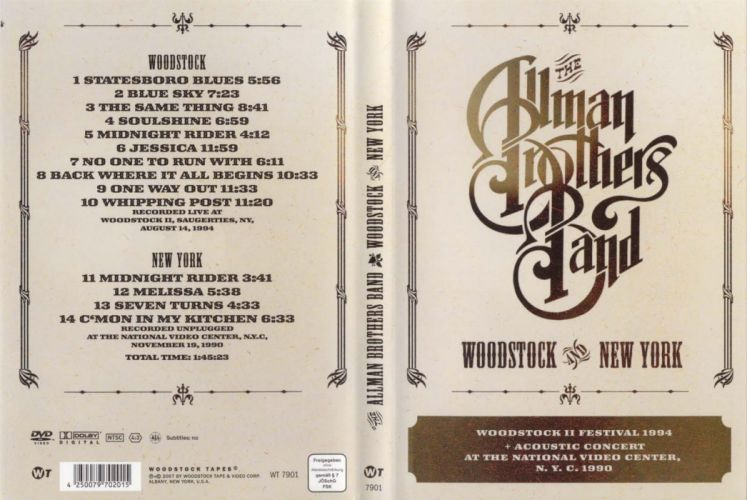 Allman Brothers Band classic rock wallpaper