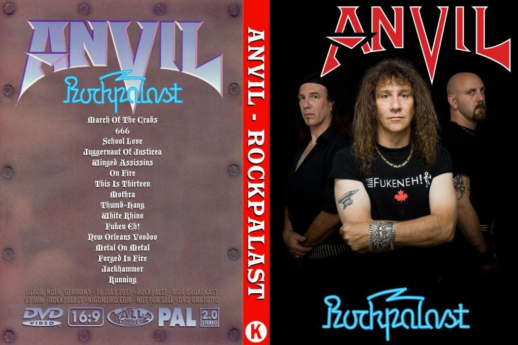 Anvil heavy metal thrash wallpaper