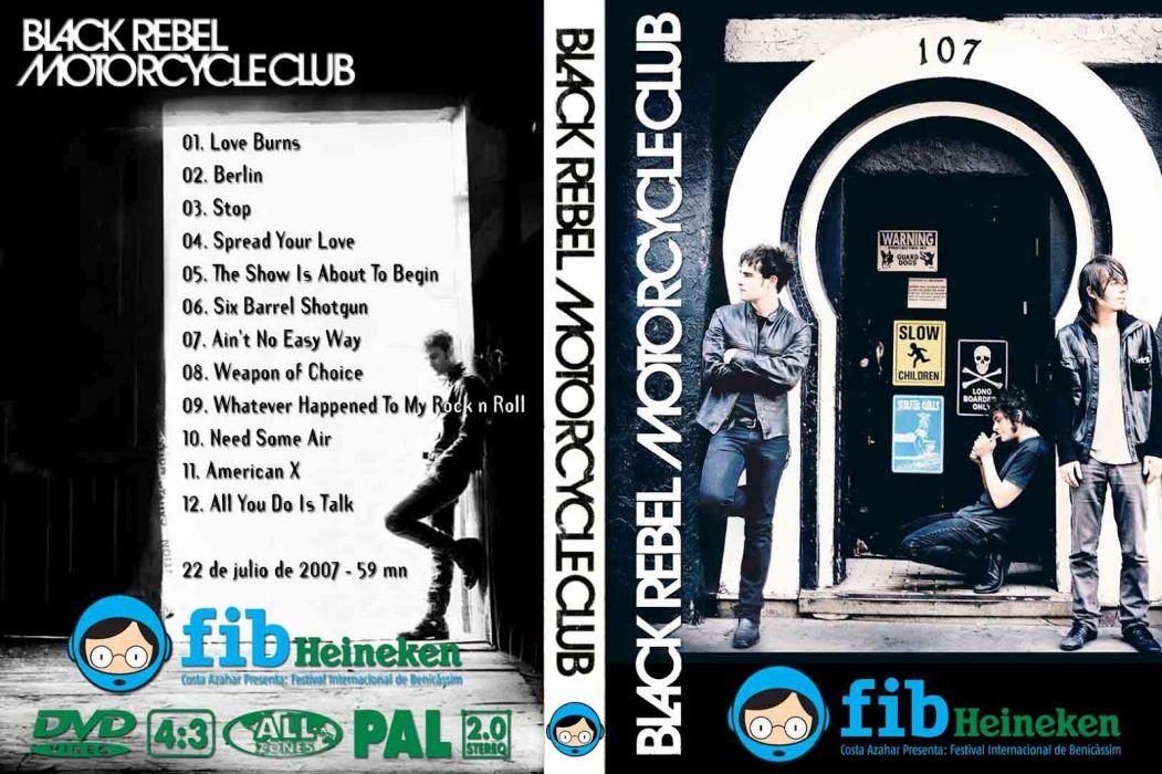 Black Rebel Motorcycle Club Alternative Rock Wallpaper