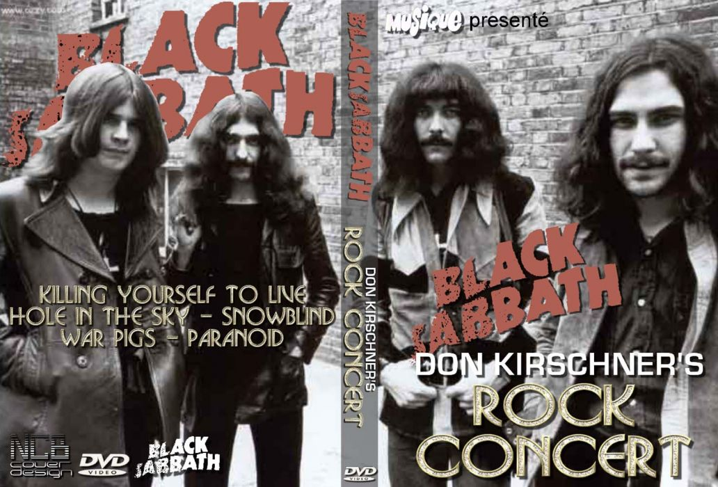 Black Sabbath doom metal heavy cover   fs wallpaper