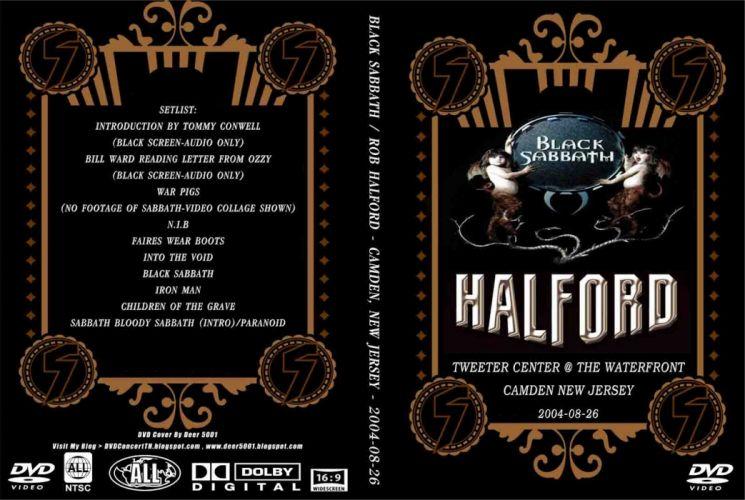 Black Sabbath doom metal heavy cover HALFORD wallpaper