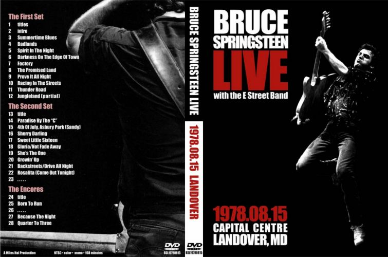 Bruce Springsteen & The E-Street Band rock cover f wallpaper