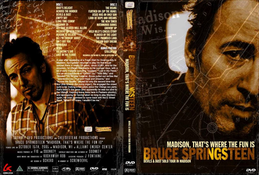 Bruce Springsteen & The E-Street Band rock cover   d wallpaper