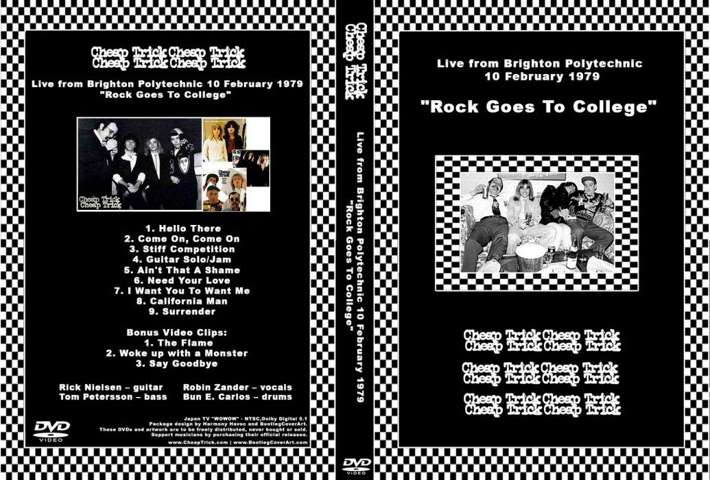 Cheap Trick hard rock power-pop pop cover    h wallpaper