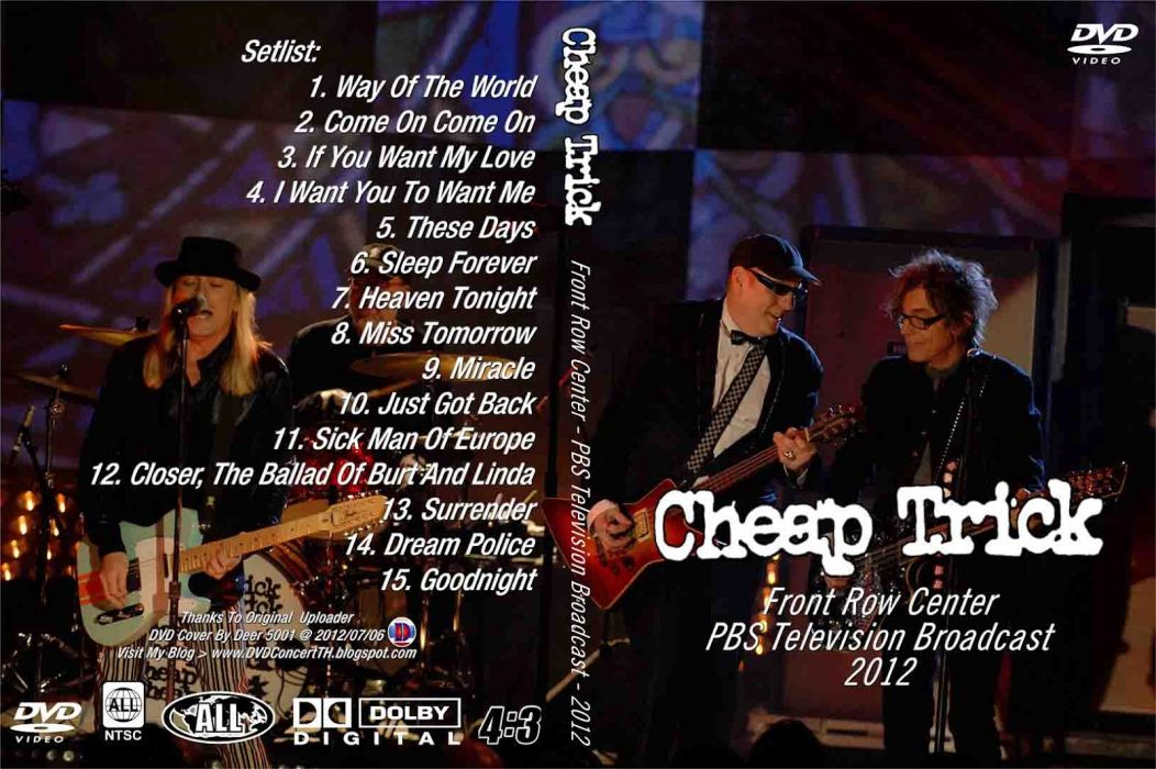Cheap Trick hard rock power-pop pop cover   g wallpaper