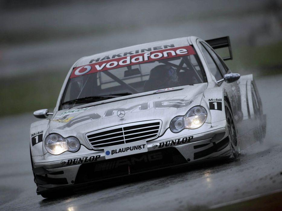 2004 Mercedes Benz C AMG DTM W203 race racing   g wallpaper