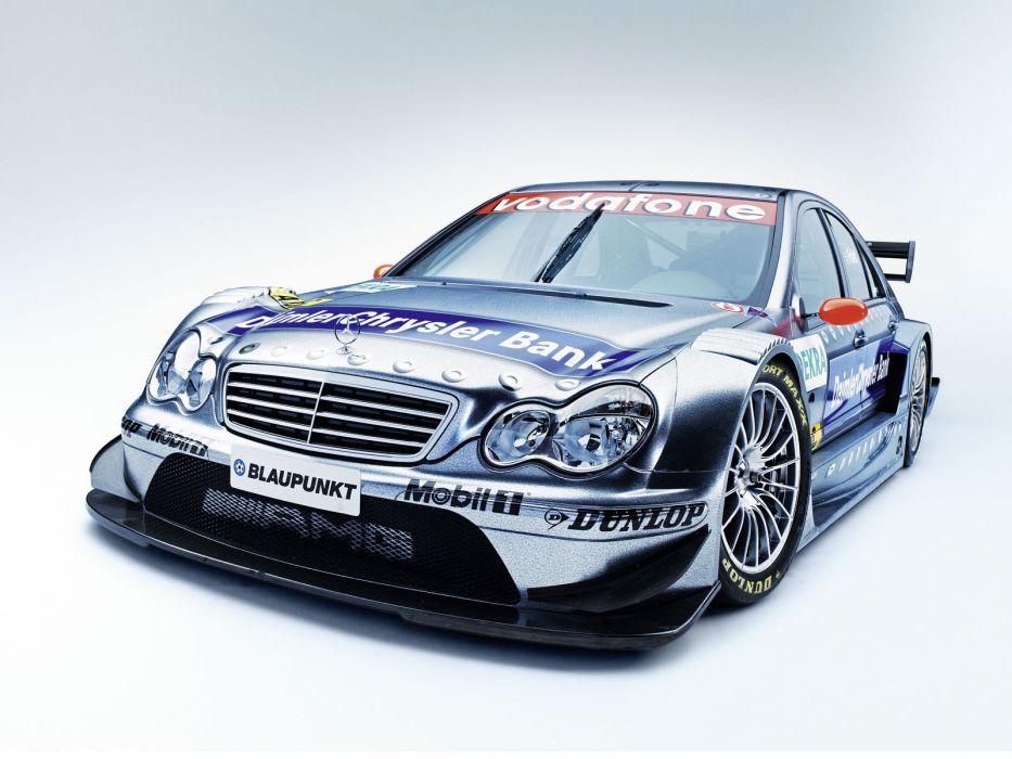 2004 Mercedes Benz C AMG DTM W203 race racing   h wallpaper