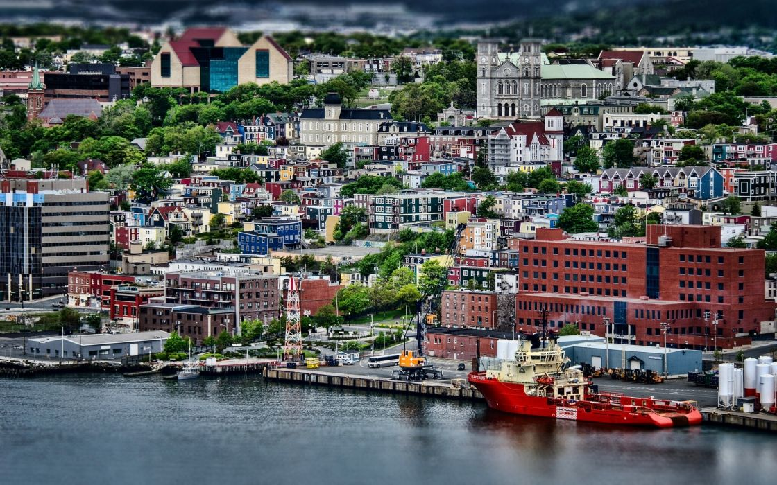 Canada St_ John's Newfoundland wallpaper