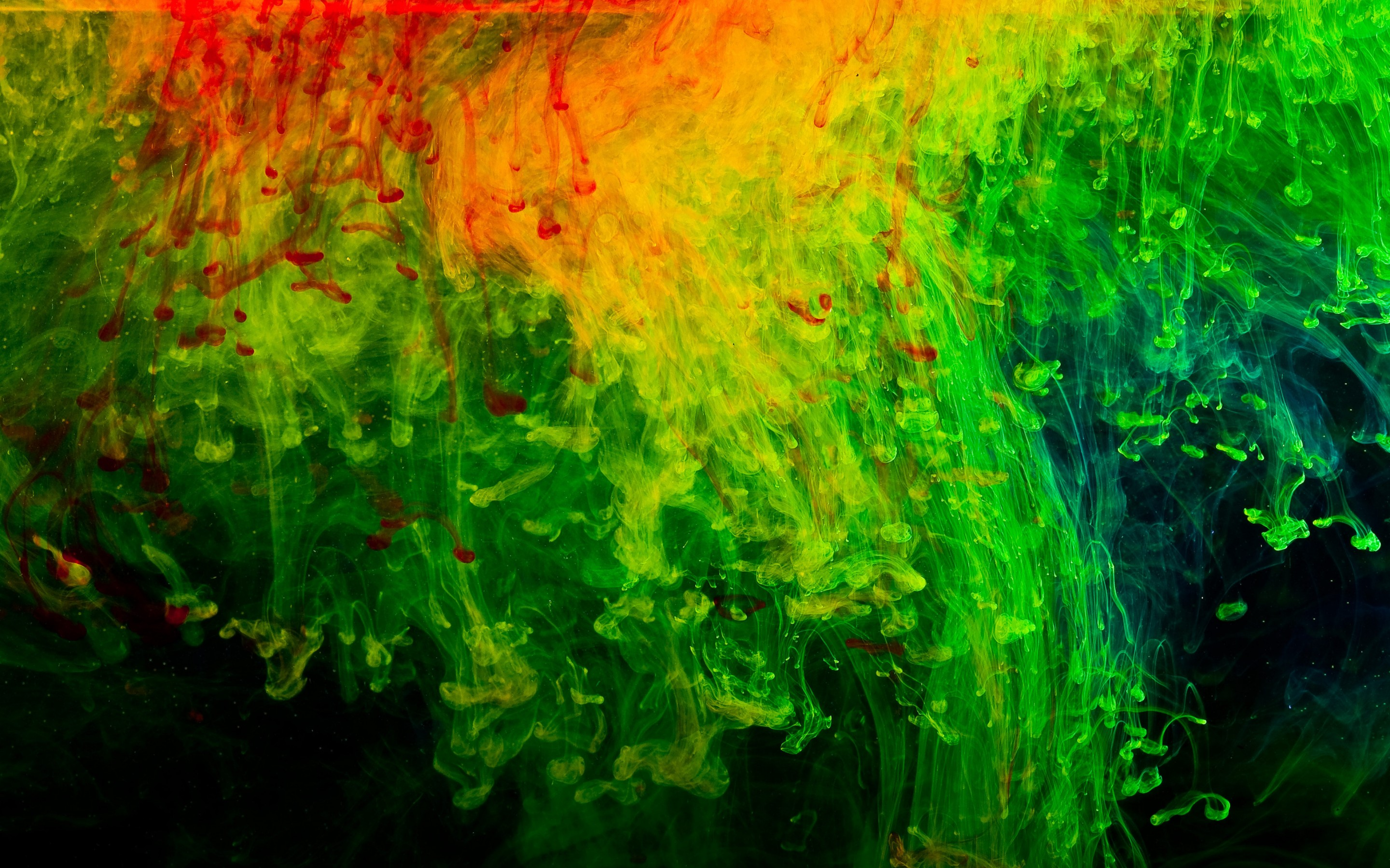 Abstraction red green black texture wallpaper | 2880x1800 ... Red Black And Green Backgrounds