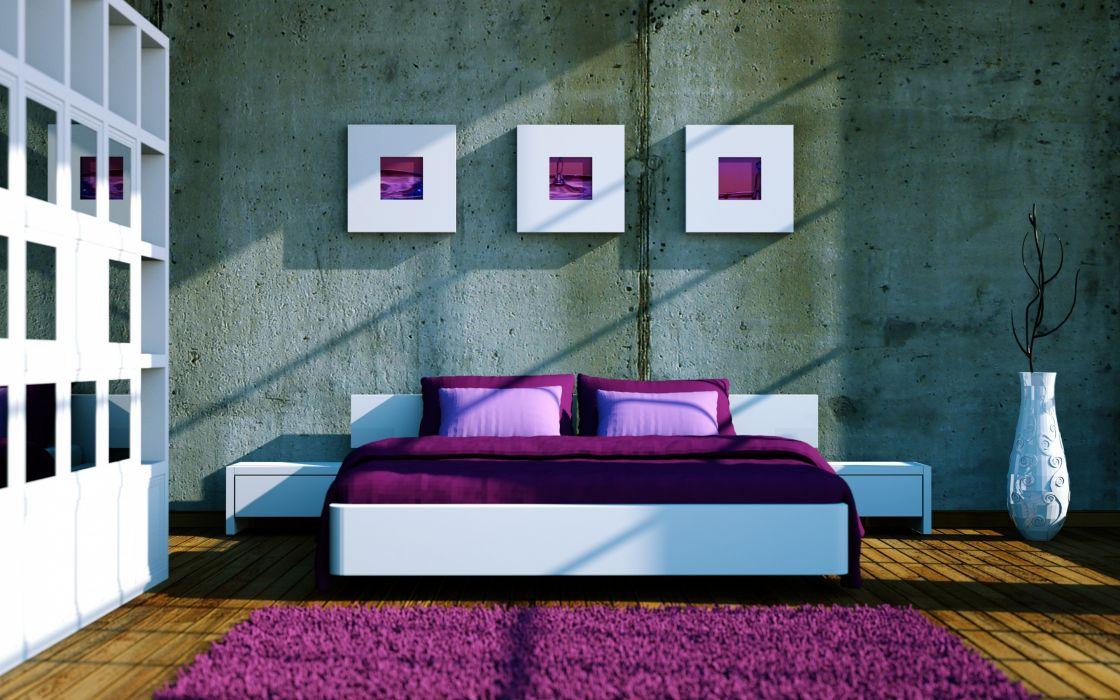 rug shelves bed pillow vase interior design wallpaper