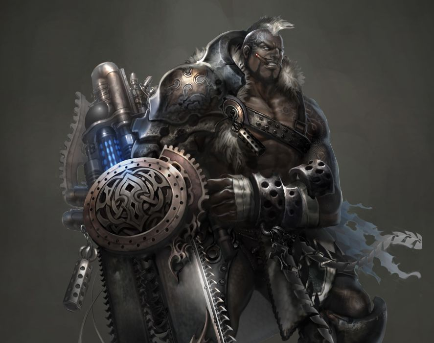Atlantica Online warrior warriors fantasy wallpaper