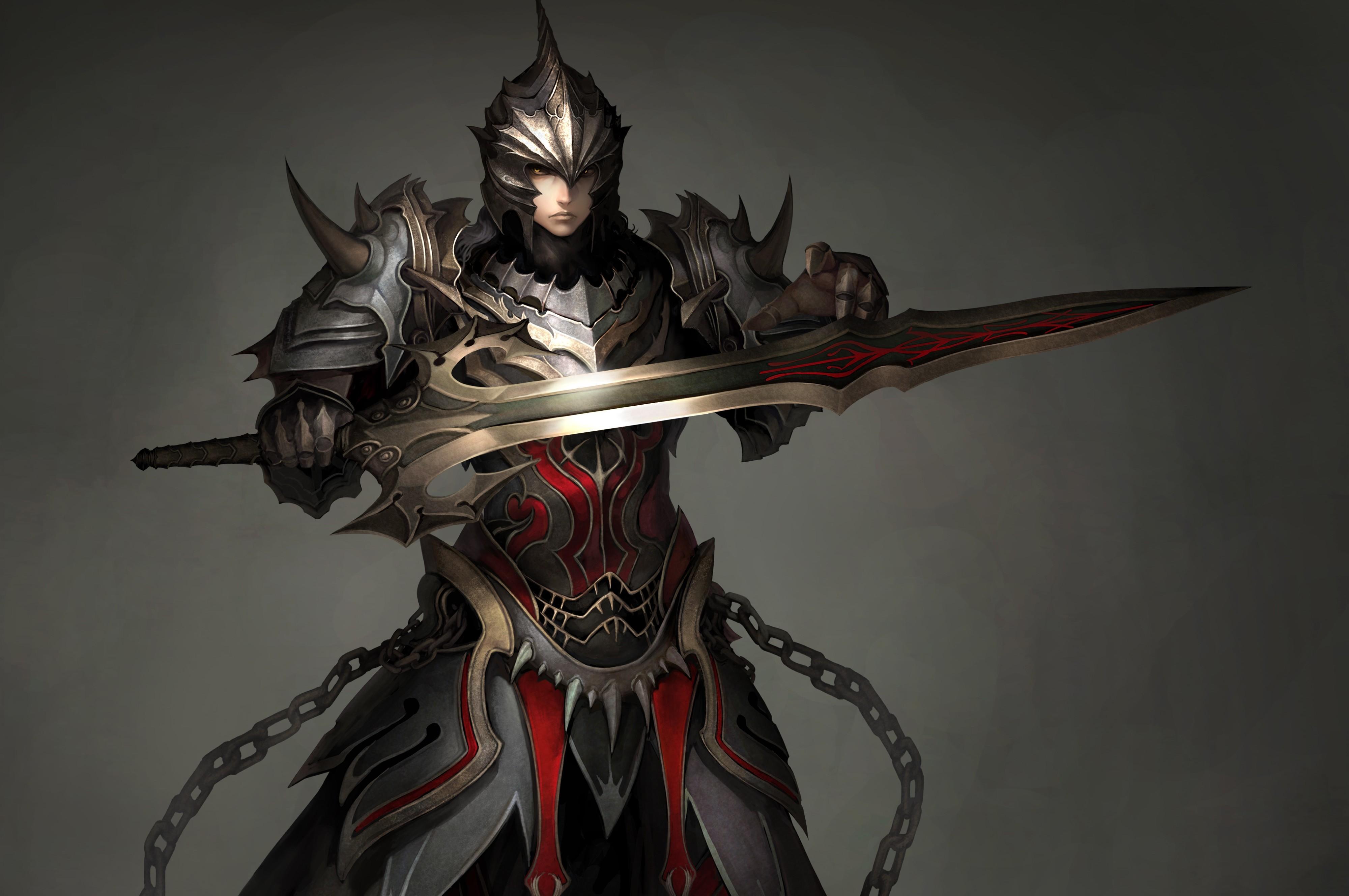 atlantica online warriors men armor swords helmet games fantasy