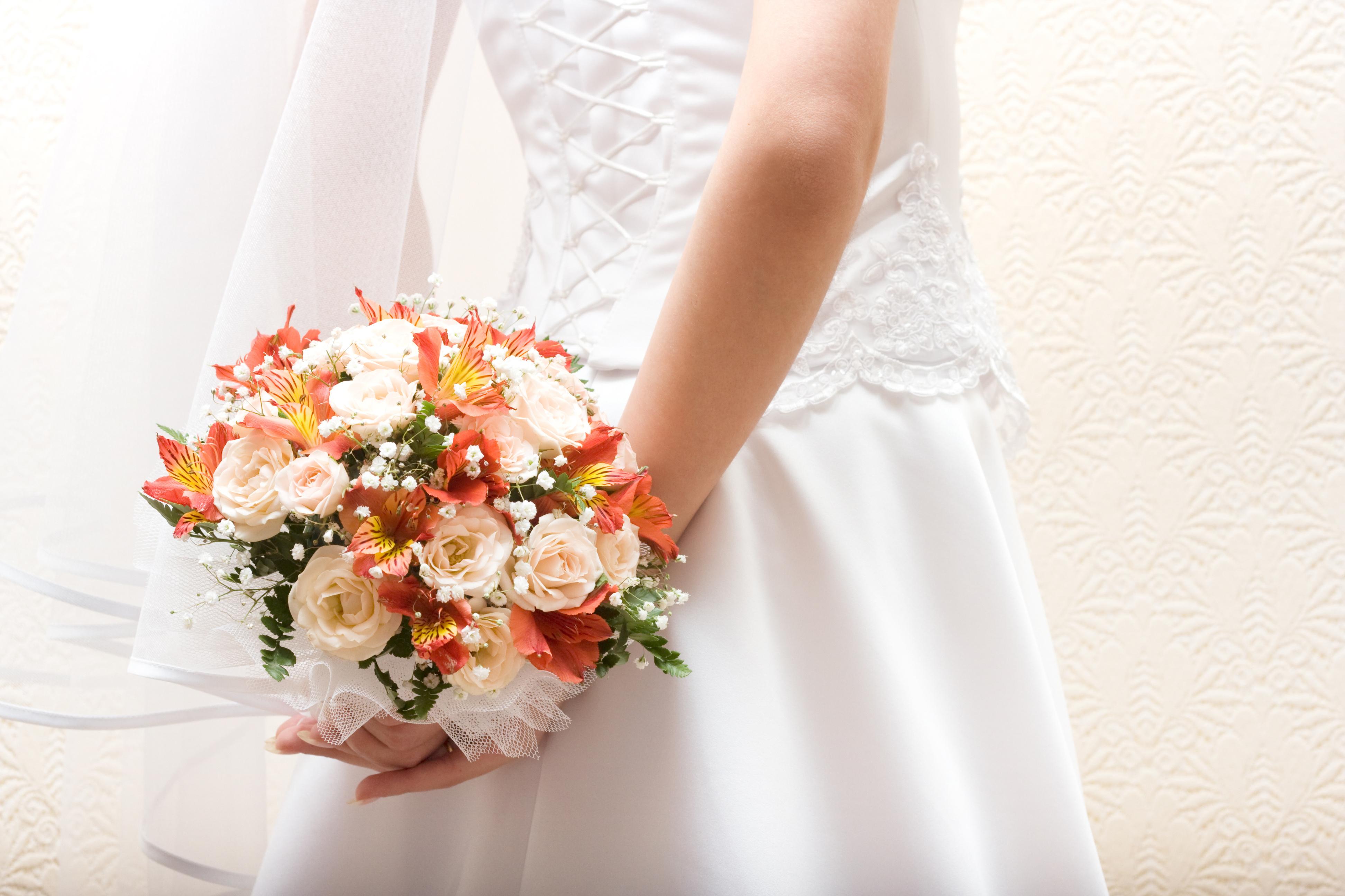 Свадебные цветы букет невесты