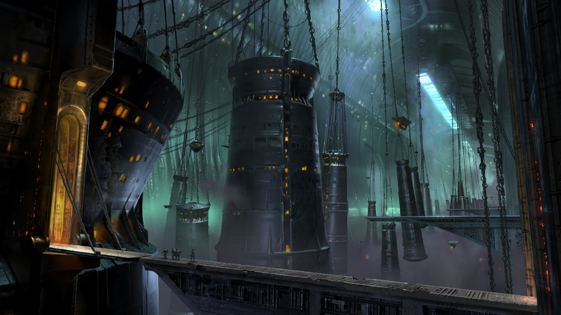 World Wallpaper Sci Fi Wallpaper: Fantastic World Fantasy Sci-fi Wallpaper