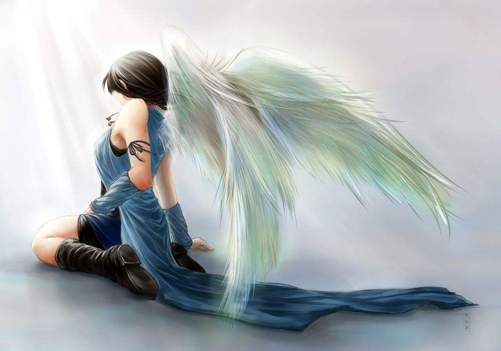 Final Fantasy VIII Rinoa Heartilly angel angels wallpaper