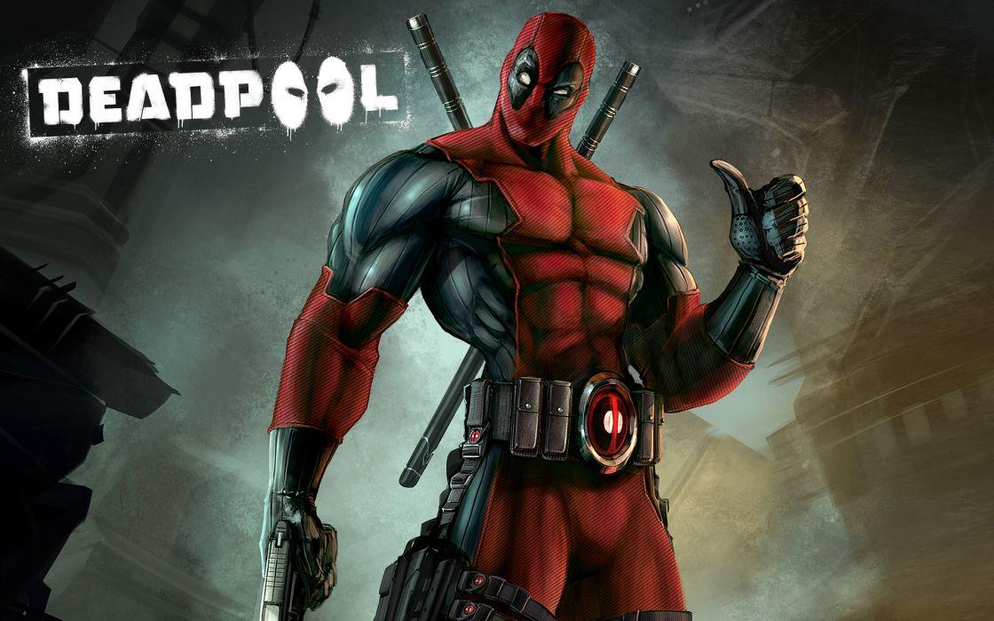 Heroes Comics Deadpool Superhero Games Wallpaper 1920x1200